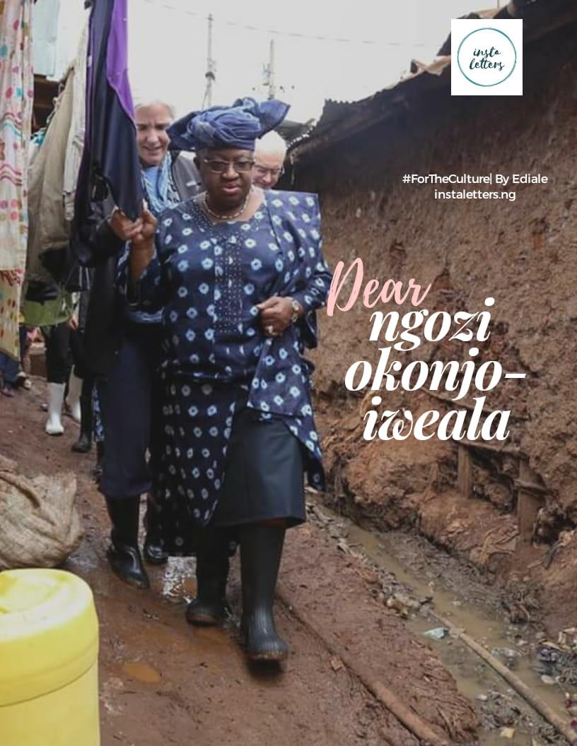 Dear Ngozi Okonjo-Iweala